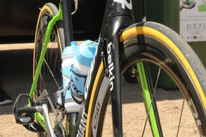The only hangover from Blanco days at the completely refreshed squad however were the Tacx bidons - all the bikes carried them
