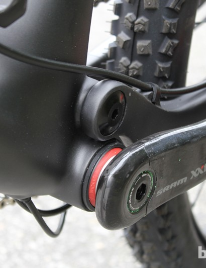 BB92 is Rocky Mountain's preferred bottom bracket standard, as it allows for a wide main pivot placement
