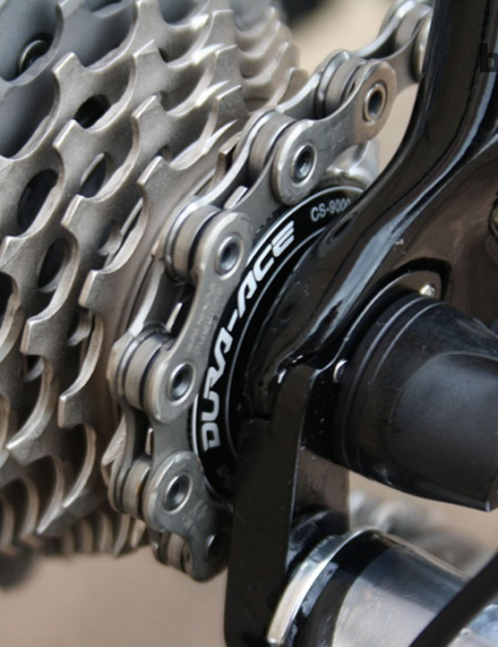 A pristine, brand new 11-25 Dura-Ace cassette with which to start the Tour