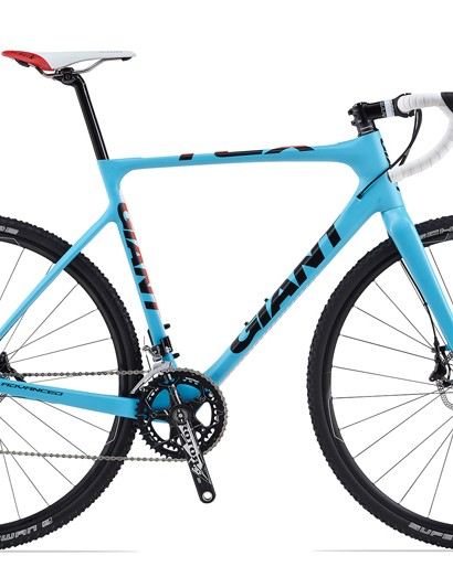 Save for last year's TCX Advanced SL - which will now only be available as a frameset - Giant's entire cyclocross line will be disc only for 2014