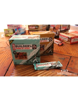 Builder's protein bars now come in a 10g snack size