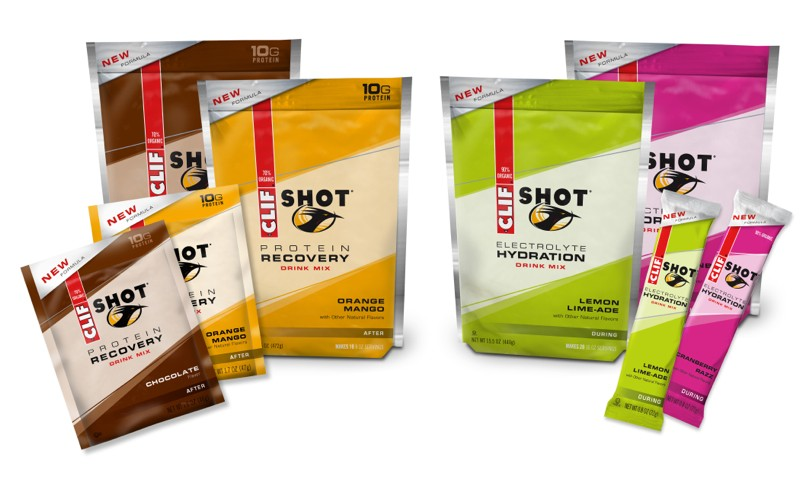 The new protein and hydration drinks will be available in pouches and single servings