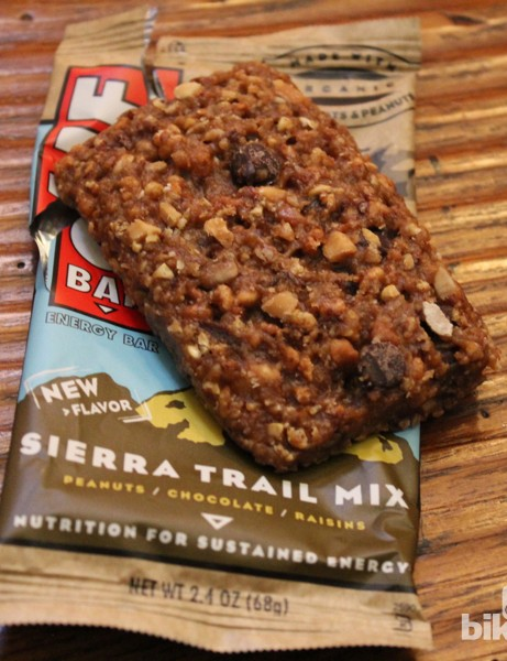 The Sierra Trail Mix is packed with chocolate, peanuts and oats