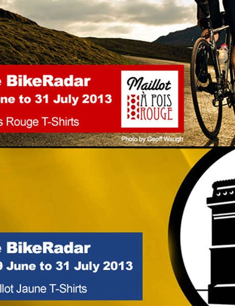 Two challenges will be running throughout July on BikeRadar Active, to celebrate the 100th Tour de France
