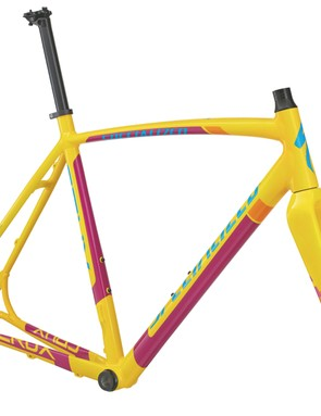 The Specialized CruX E5 Disc frameset comes in a few color options