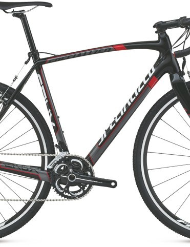 The CruX Sport Carbon 105 is one of a few Specialized cyclocross bikes with cantilever brakes for 2014