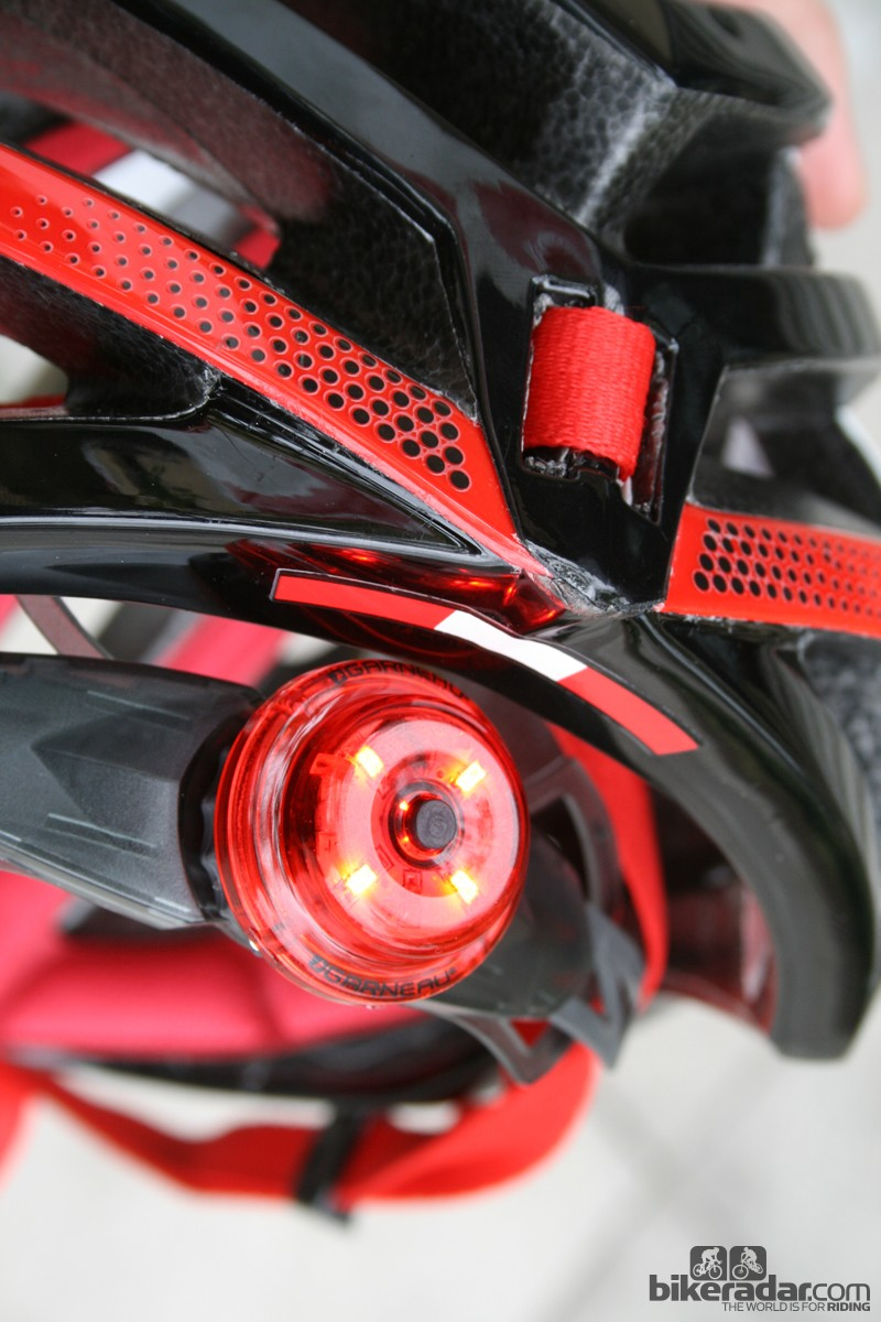 The Spiderlock II retention system provides a mount for the included rear light