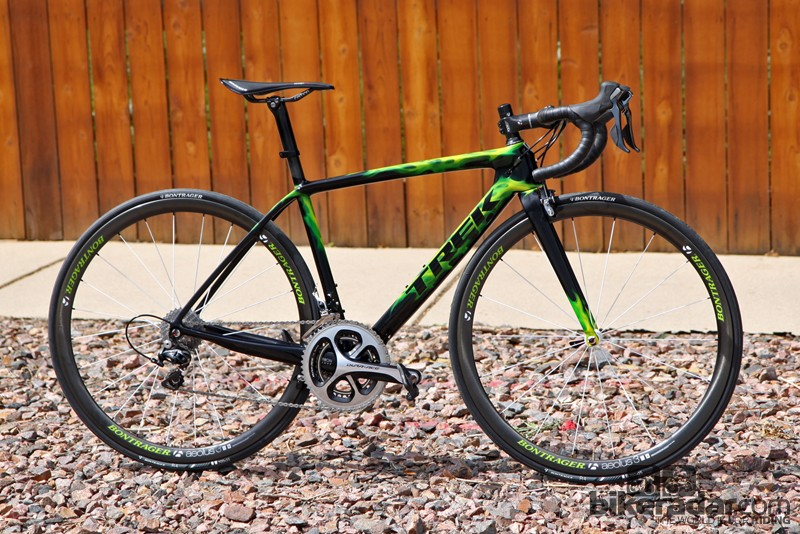 Improvements to the 2014 edition of the flagship Trek Madone 7-Series race bike are subtle but noticeable
