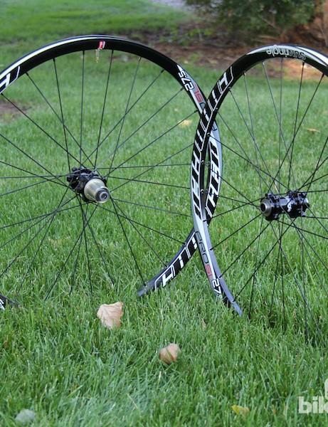 Sun Ringle's Charger Pro SL wheelset does a good job of balancing price, weight and stiffness, making it an appealing upgrade for all-mountain riding