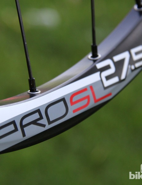 The Charger Pro SL wheelset is available in 26in, 27.5in (650b), and 29in sizes