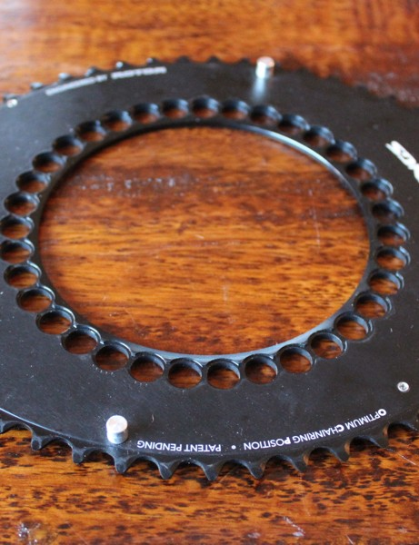 The new Rotor QXL rings feature a 15 percent ovalization