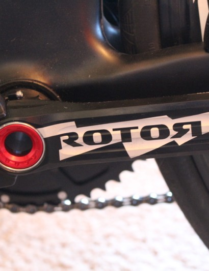 Rotor POWER features power measurment on each crank