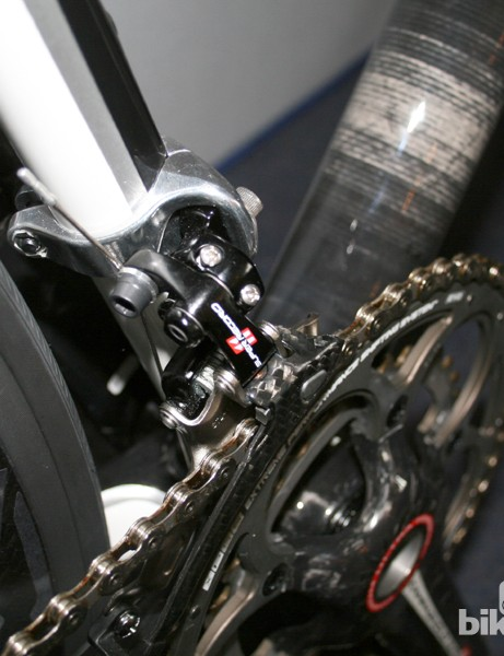 This Purosangue is specced with Campagnolo Super Record