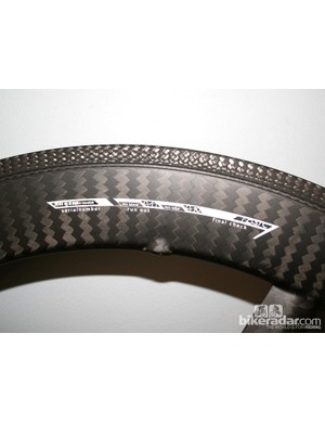 Xentis wheels are custom finished according to the frame finish