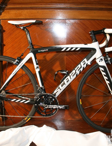 The Scappa Giara is the company's sportive/gran fondo bike