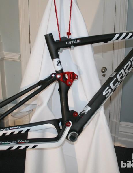 Scappa's Catria full-suspension mountain bike frame
