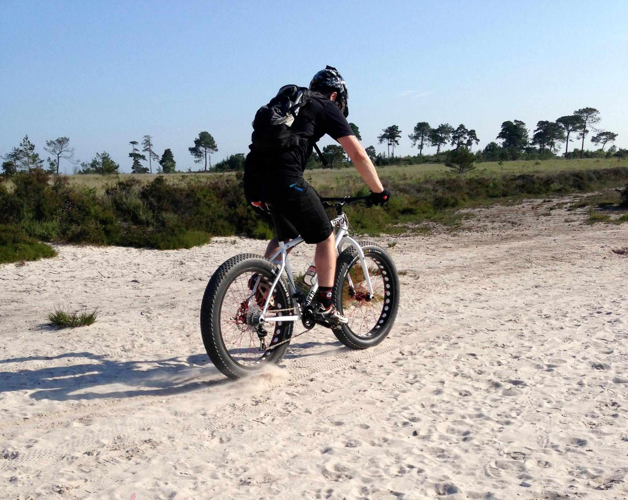 The Charge Bikes Cooker Maxi prototype fat bike