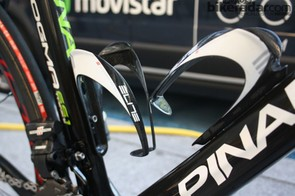 Two Elite Custom Race bottle cages are fixed to the bike