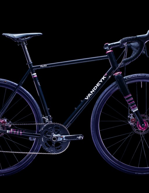 The Vandeyk Rapha Continental is a one-off bike built for the Rapha Continental programme