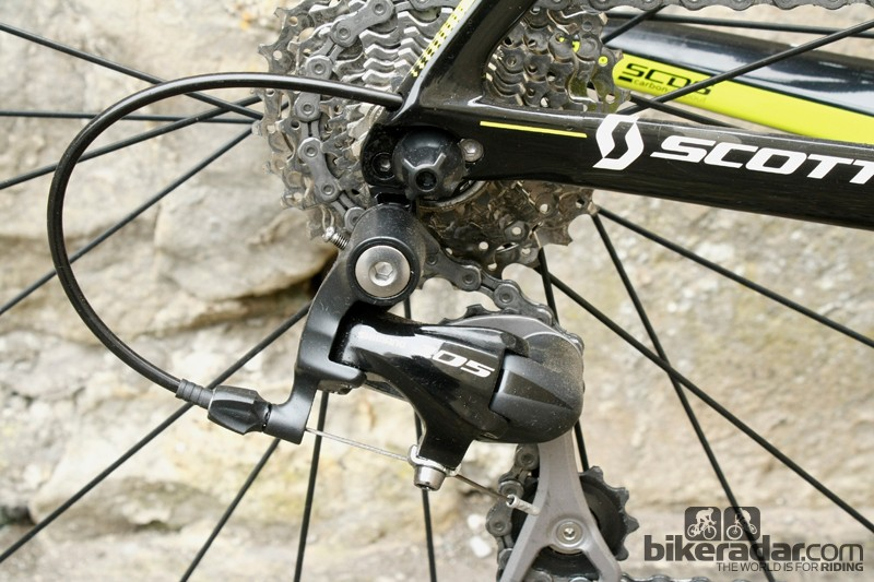 Carbon dropouts and internal cable routing are facets of the Foil's race bike prowess