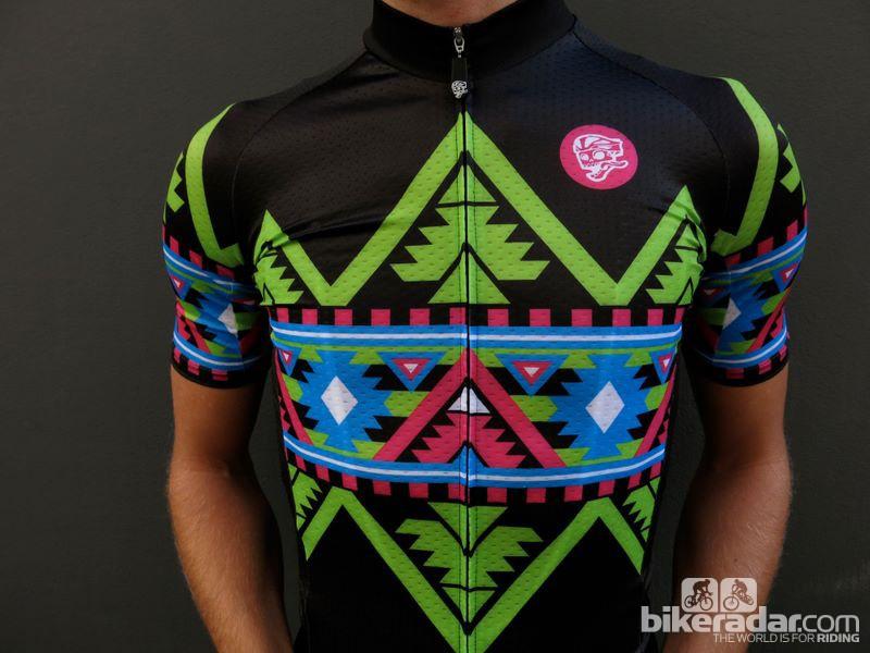 Attaquer Electro Aztec jersey