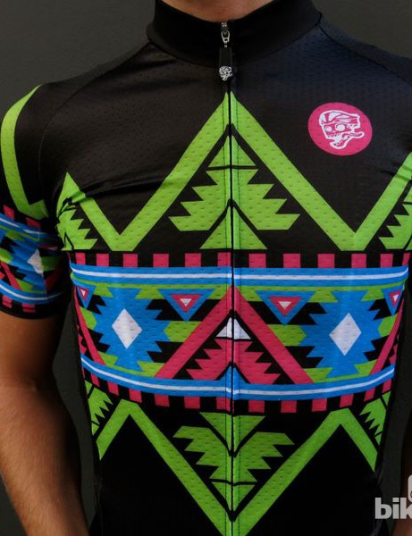 Attaquer Electro Aztec jersey