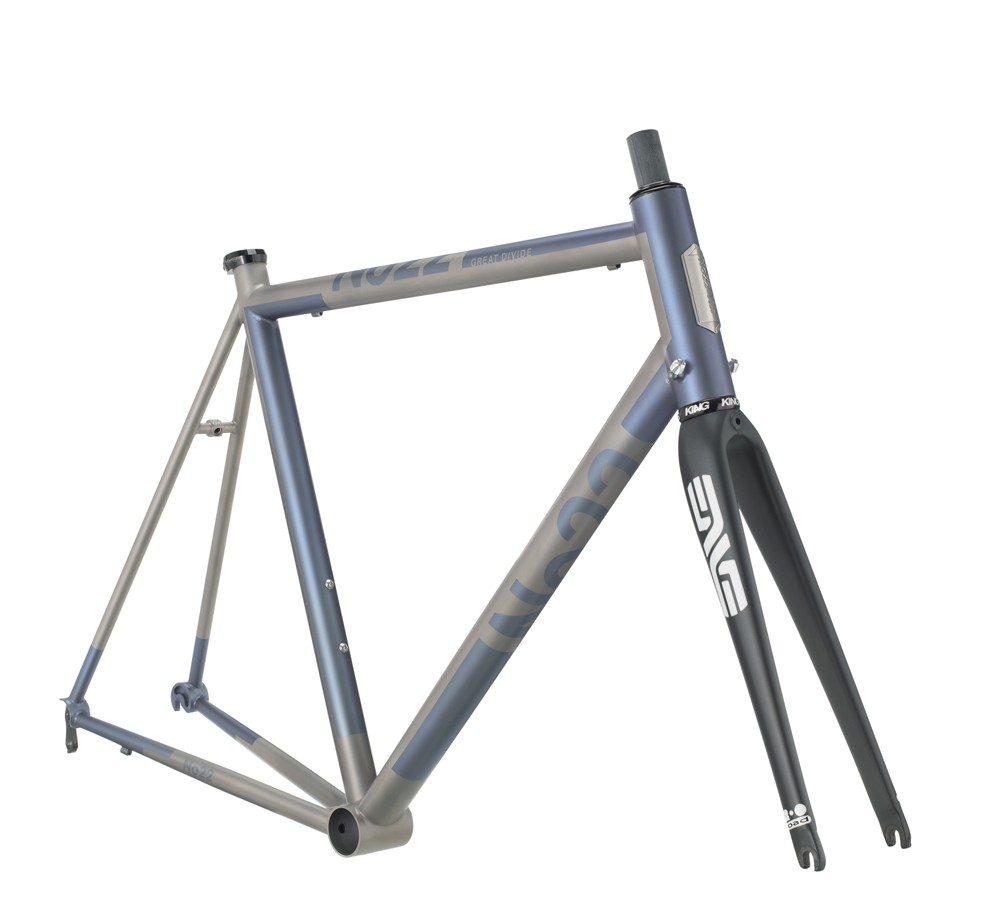No 22 Bicycle Company Great Divide frameset with ENVE carbon fork