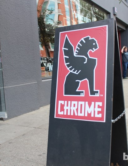 Chrome Industries - a San Francisco institution