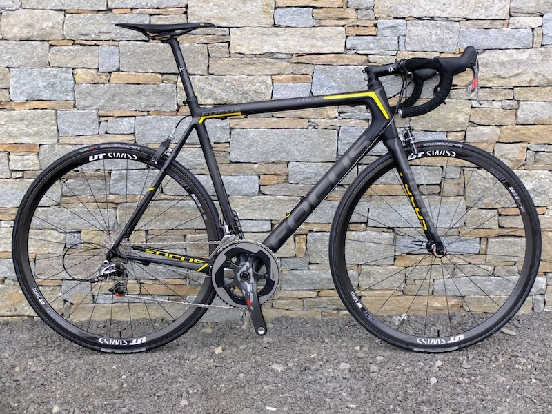 The Focus Izalco Max road frame