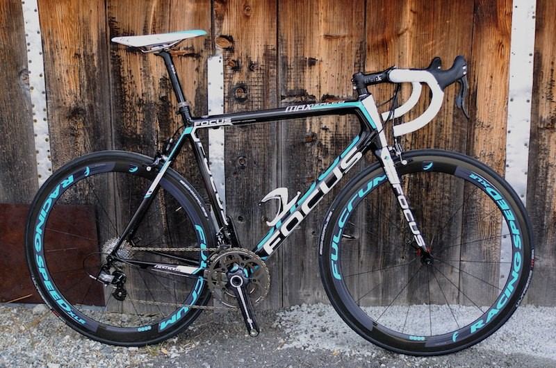 The Ag2r La Mondiale team model with mechanical Campagnolo Super Record