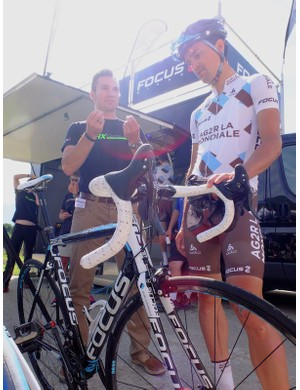 Ag2r pro Guillaume Bonnafond takes a look at the new team bike