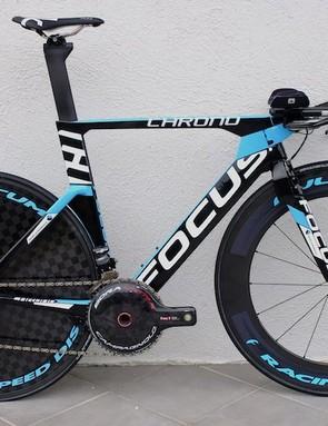 The Ag2r La Mondiale team edition Focus Izalco Chrono with Campagnolo Record EPS