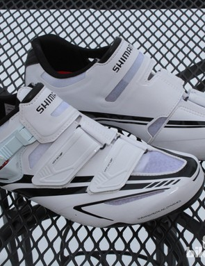 The R170 is Shimano's top non-heat moldable road shoe