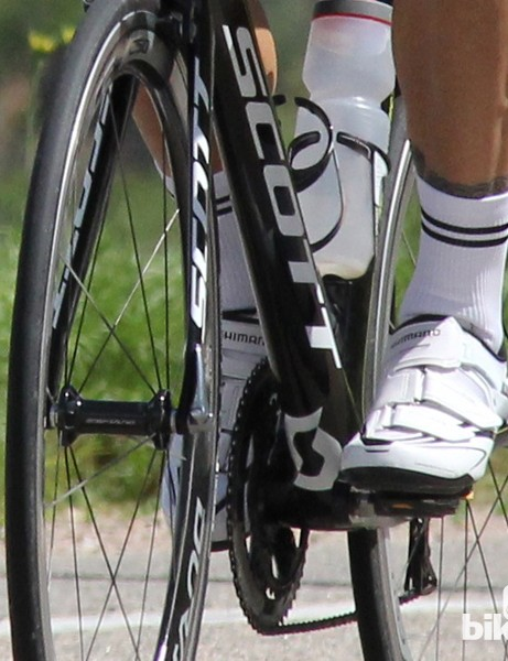 The Dynalast shoe has slightly less (5mm) toe rise than previous models, which supposedly makes for a more efficient upstroke. We can't vouch for this performance claim but we can say it's comfortable and efficient