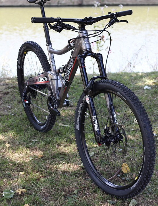 A limited run of RS full-builds will come with the new SRAM X01 groupset and RockShox Pike fork