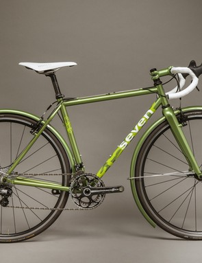 The CXR is a 'four-season cyclocross' bike from Cascade Bicycle Studio and Seven Cycles