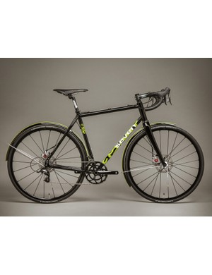 The bike can be painted in any two of the many colors Seven offers