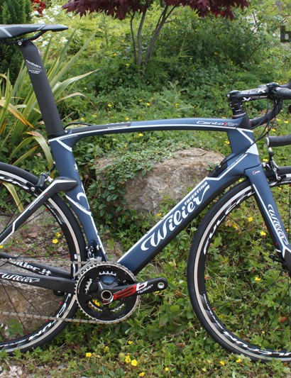 The Wilier Cento1Air is new for 2014 and aims to combine aero advantages with race bike handling