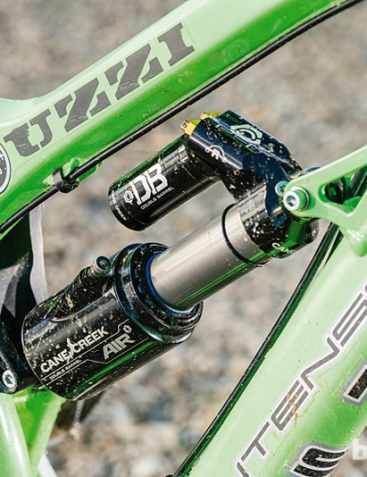 Cane Creek's Double Barrel Air shock is the tuner's holy grail, allowing fine control over almost every aspect