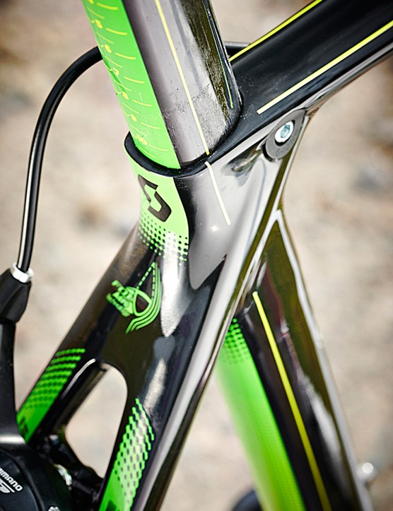 Ritchey's triangulated aero seatpost is more forgiving than it looks