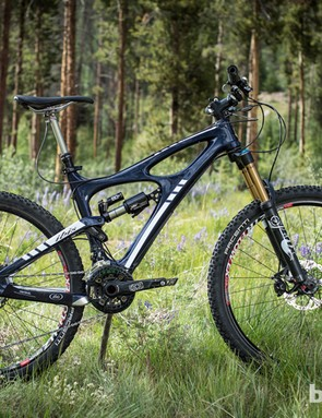 The DBair CS made a small but noticable improvement to the Ibis Mojo HDR's climbing performance