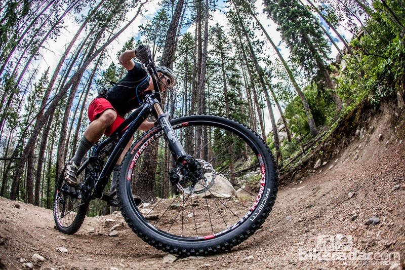We spent a day climbing and descending at Keystone Resort in Colorado. The DBair CS allowed us to tune the settings for optimal downhill performance and, with the flip of a switch, have a shock that was set up for climbing