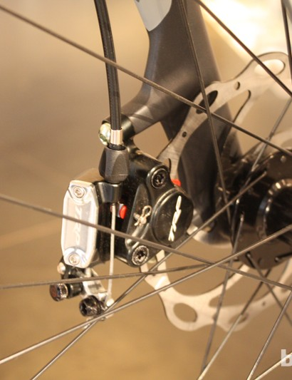 The Whyte RD7 Suffolk gets TRP's HY/RD cable actuated hydraulic discs