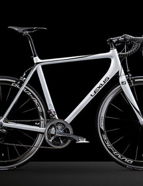 Lexus made 100 bikes to show off its carbon fiber reinforced plastic technology