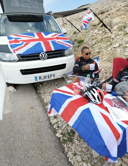 British fans should have plenty to cheer for as Froome motors up past their motorhomes tomorrow