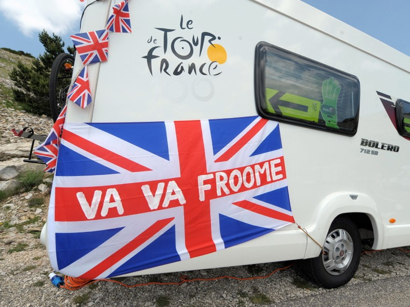 Vive Le Tour, and voom voom, Froome