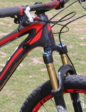 The S-Works Camber has a 110mm travel Fox Float 32 fork