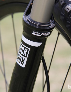 The Camber EVO models have 120mm of front and rear suspension travel, 10mm more than the standard models