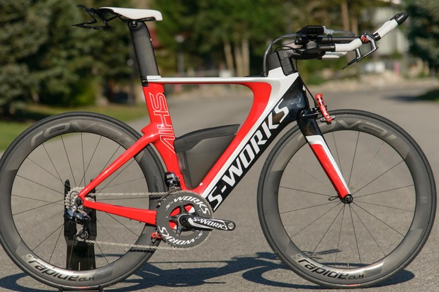 In addition to hydraulic Magura brakes, Specialized have added SWAT features to the Shiv for 2014. SWAT stands for 'Storage, Water, Air, Tools'
