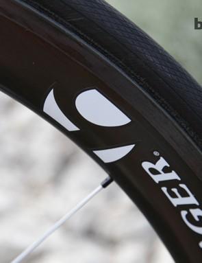 The wheel choice is the versatile Bontrager Aeolus 5 – a 50mm carbon rim